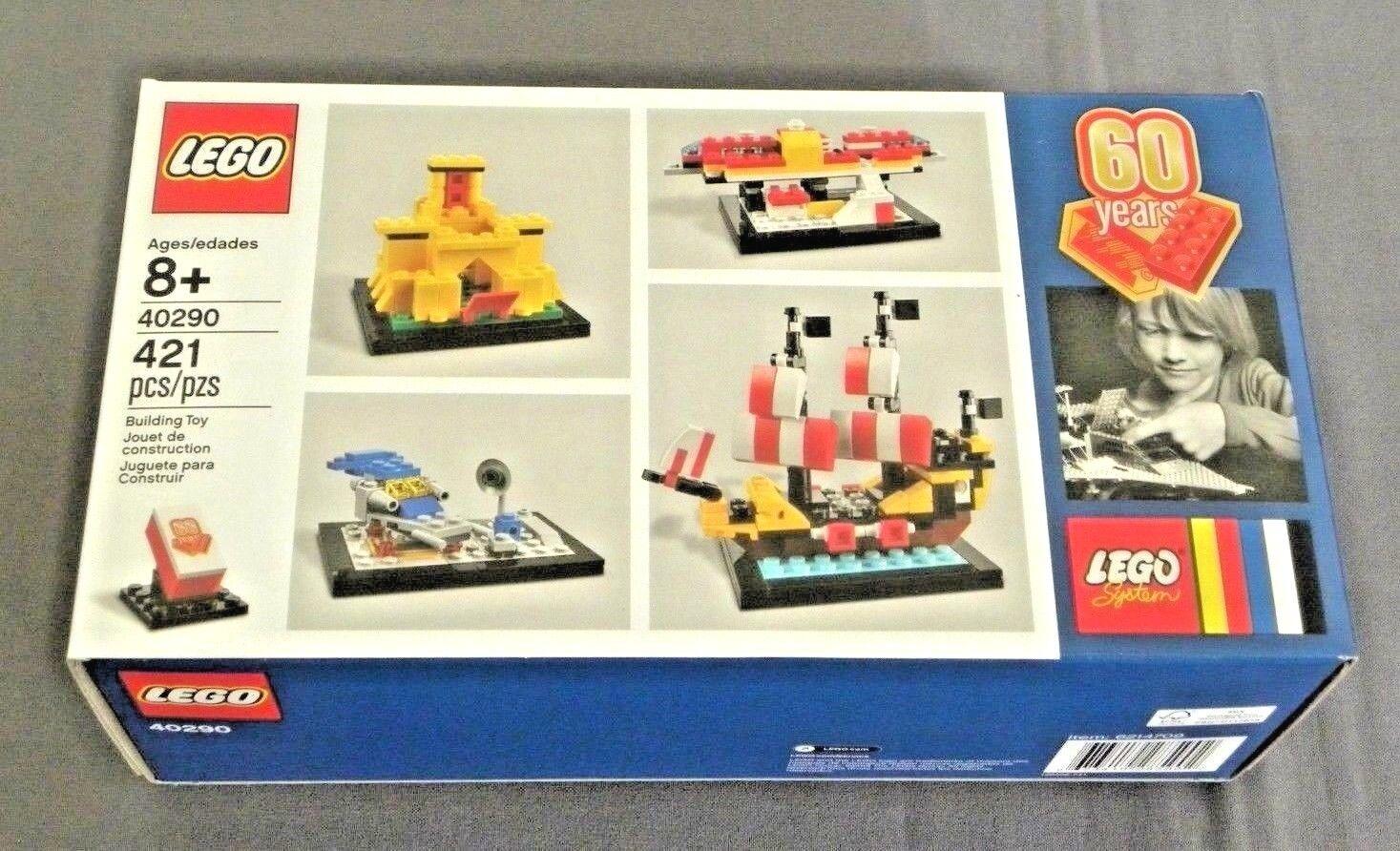 Lego System 60 Jahre der Lego Stein Set 40290 Neu