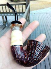 HS Studio Pipe, Arhat Bamboo pipe, Briar wood pipe ---- unsmoked