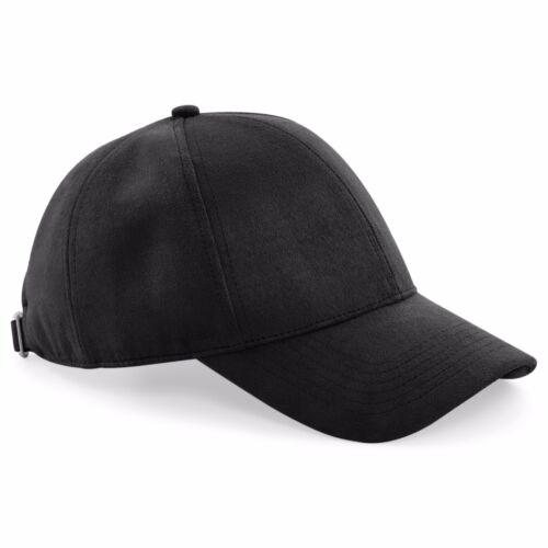 In finta pelle scamosciata 6-Pannello Cappello BC656 Beechfield Cappello Baseball SMART SMART Cool