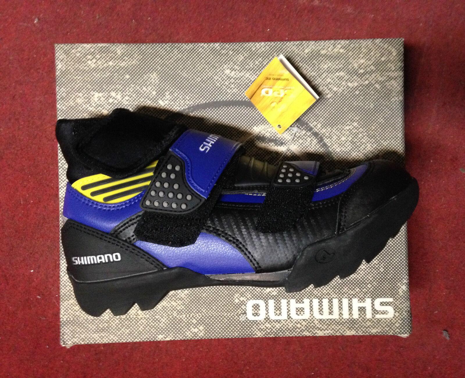 shoes invernali MTB Shimano SH-W100 Winter mountain bike shoes 39 blue