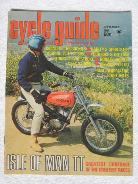 Cycle Guide Magazine - September 1967