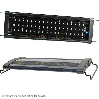 "USED LED 48"" 0.50W 6500K Aquarium Light Freshwater Plant Fish 96x LEDs 120cm 455"