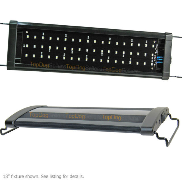 "USED LED 36"" 0.50W 6500K HI LED Aquarium Light Freshwater Plant Fish #235"