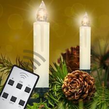 4er Set Kerze in Zink zum Einstecken am Stab 14cm hoch