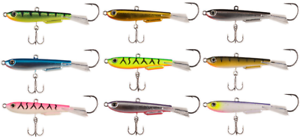 Johnson Johnny Darter With Internal Rattle All Sizes /& Colors Variation Listing