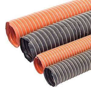 """Air or Brake Duct Hose 2-1//2/"""" Diameter 10 ft Plastic Black"""
