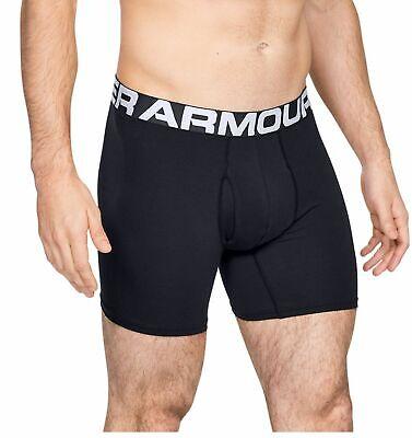 Under Armour Herren-unterhose Charged Cotton® Boxerjock® 15 Cm 3er Pack Schwarz