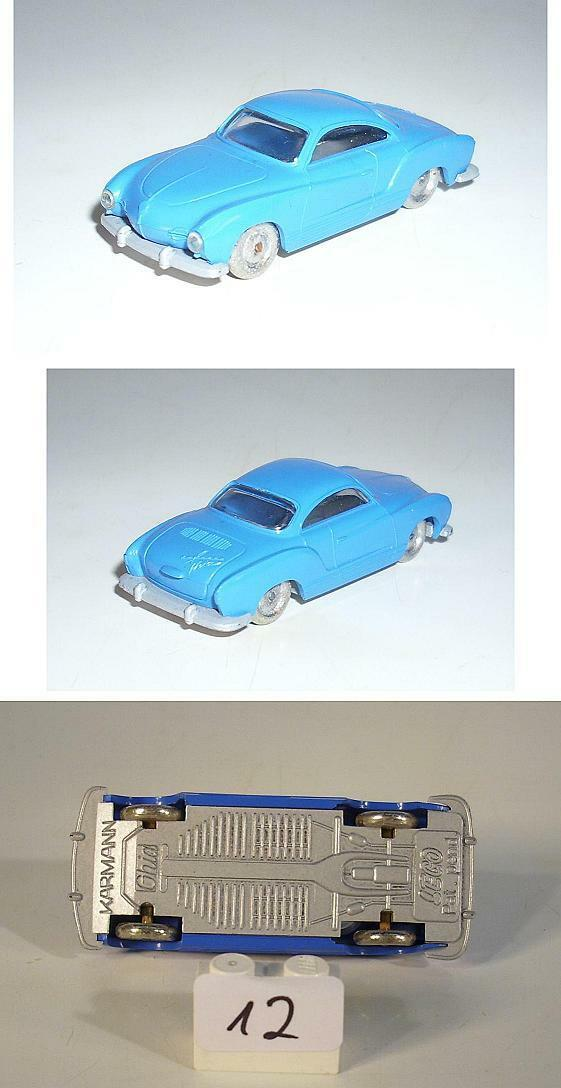 Lego 1 87 VW Karmann Ghia in rarem blue   60er Jh.
