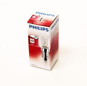 10 Genuine Philips Four Ampoule//Micro-ondes Ampoule 25 W E14 300 C ses Cuisinière Lampe 6760x10