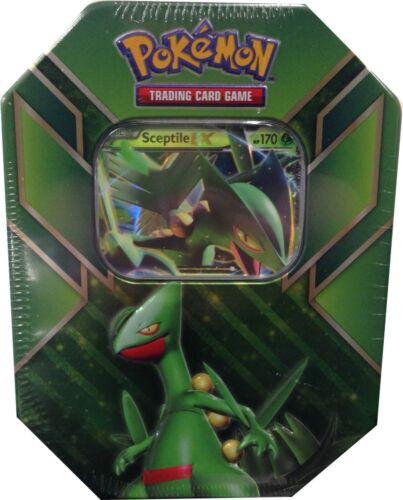 Sceptile Tin New /& Sealed Pokémon TCG Hoenn Power Tin 2015 w//x2 Roaring Skies