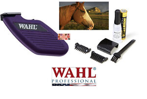 WAHL-Grooming-Pro-Mini-CORDLESS-HORSE-Equine-Trimmer-Clipper-Kit-Comb-Set-Brush