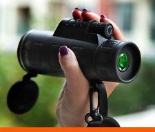 UK PANDA 40X60 Focus Zoom Portable Hunting HD OPTICS BK4 Monoculars Telescope