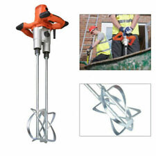 Concrete Cement Mixer Portable Electric Mortar Heavy Duty Work Thinset Grout Mud