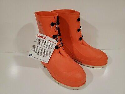 Brand new New Tingley HazProof Steel Toe Hazmat orange  SZ 11