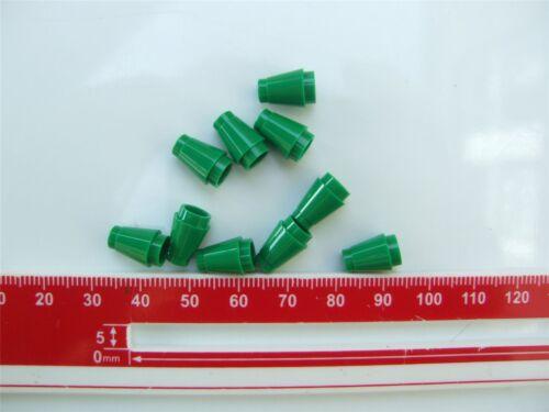10 X Lego Verde OGIVA piccolo 1x1-4529239 parti e pezzi