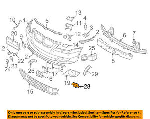 BMW-OEM-00-16-X5-Outside-Air-Ambient-Temperature-Sensor-65816936953
