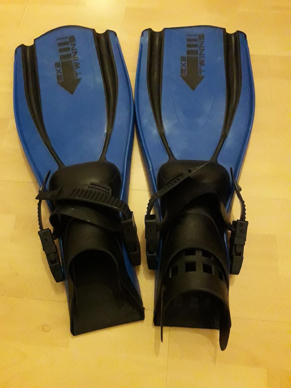 Geräteflossen Sporasub Twins Twins Twins 2x2   Tauchen   Farbe blau   Größe M   NEU  | Sehr gelobt und vom Publikum der Verbraucher geschätzt  d879e8