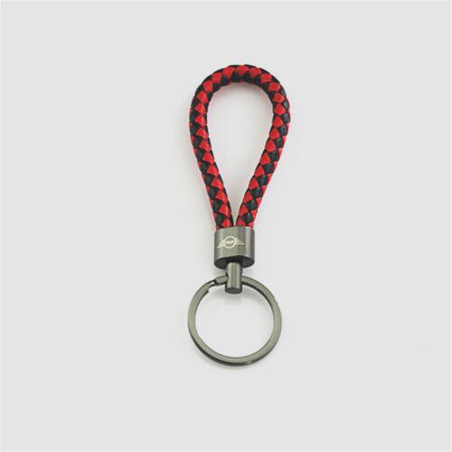 Key Chain Keyring Keychain Key PU For All Mini Cooper ONE S JCW C01