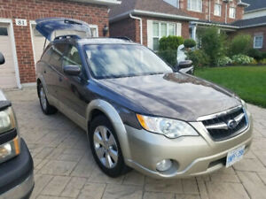 2008 Subaru Outback AWD with Safety Certificate