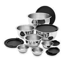 Wolfgang Puck 14 Piece Stainless Steel Mixing Bowl Set WP14MBWL13