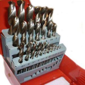 Neilsen-Metric-Drill-Set-HSS-High-Speed-1mm-13mm-Index-Box-25-Piece-High-Speed