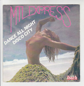 MTL-ESPRESS-Dischi-45T-7-034-SP-DANCE-ALL-NIGHT-DISCO-CITY-Nuda-IBACH-60076-RARE