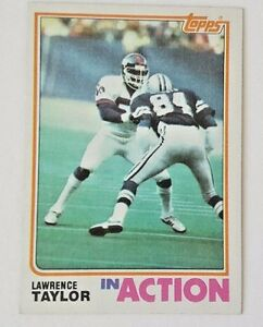 1982-TOPPS-LAWRENCE-TAYLOR-RC-IN-ACTION-435-GIANTS-B