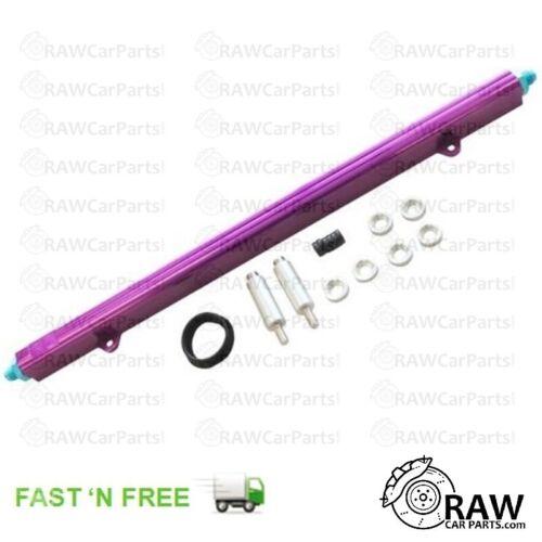Violet Haut Débit Carburant Rail Pour Nissan Skyline RB25DET//RB20DET R32 R33 R34