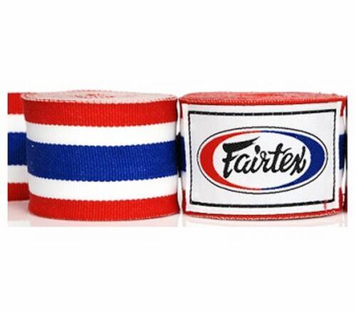 Fairtex HW2 FULL LENGTH ELASTIC COTTON Martial Arts KICK BOXING MMA HANDWRAPS