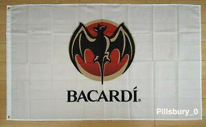 Bacardi Rum 3x5 ft Flag Banner Alcohol Liquor Bar Man Cave