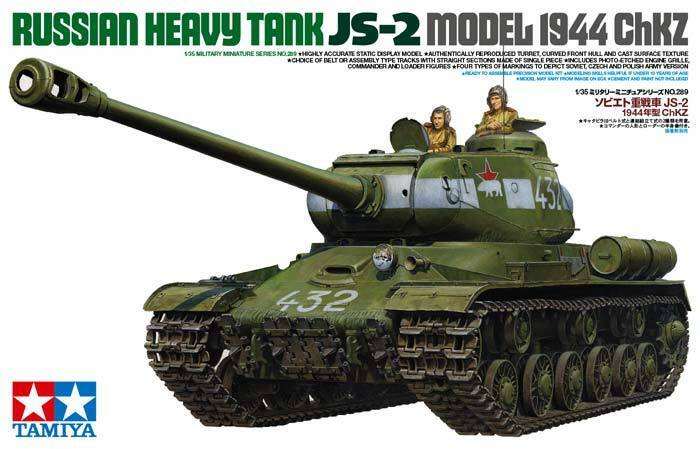 Tamiya 1 35 scale Russian JS-2 Model 1944 chKZ