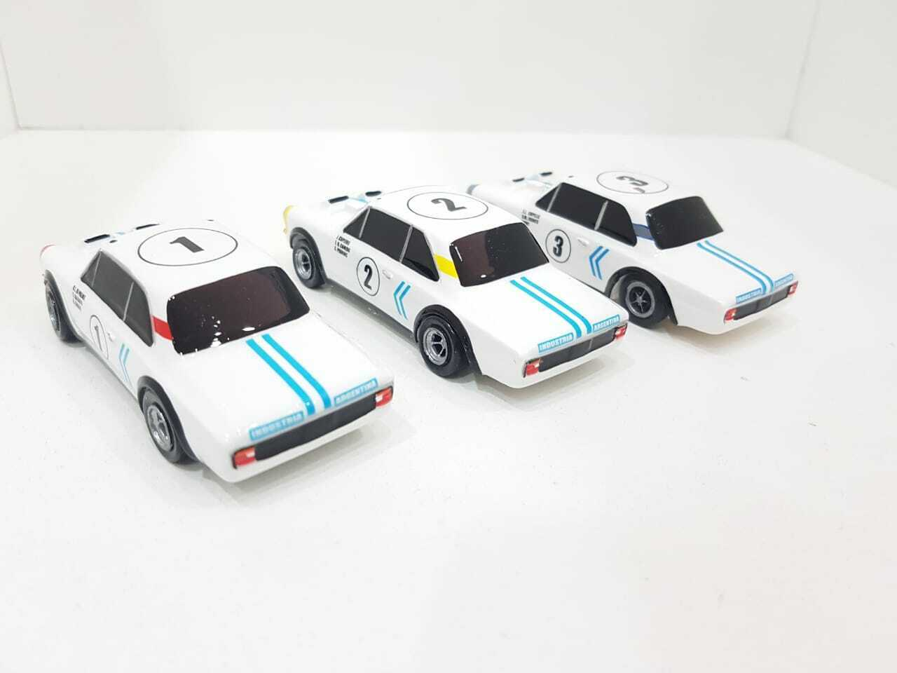 Set x3 x3 x3 renault torino 84hs nurburgring 1969 1 43 silverina mision fangio 473dea