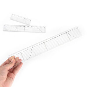 Quilting-Sewing-Patchwork-Foot-Aligned-Ruler-Grid-Cutting-Edge-Tailor-Craft-ti