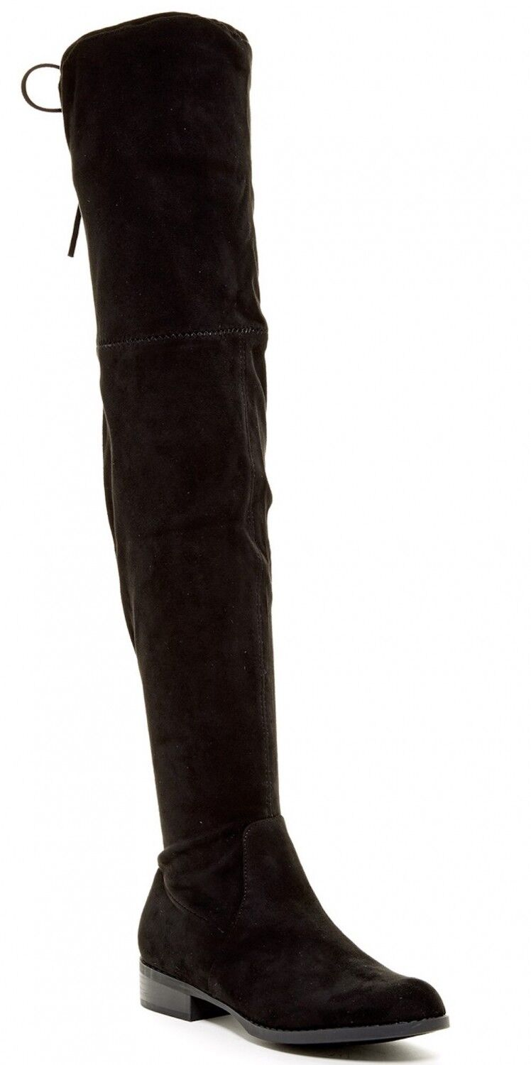 Carrini CA Collection Women's Fashion Soft Faux Suede Over the Knee SZ 7.5--R3--