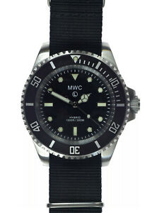 MWC-300m-1000ft-Water-Resistant-Hybrid-Stainless-Steel-Military-Divers-Watch