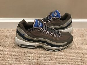 sports shoes 2678a f1374 Image is loading 2014-Nike-Air-Max-95-Essential-Dark-Dune-