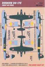 KORA Decals 1/48 CROATIAN DORNIER Do-17E Bomber