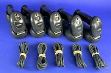 Symbol Motorola Ds6878 Barcode Scanner Wireless Cradle Amp Usb Cable Lot Of 5
