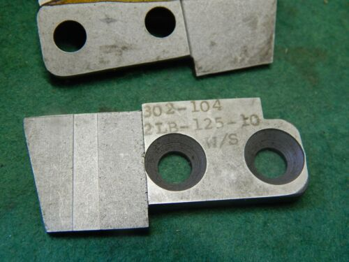 Manchester Tool Lower Insert Support # 302-104