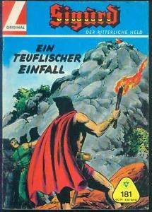 Sigurd-Der-ritterliche-Held-Nr-181-mit-Club-Sammelmarke-TOP-ORIGINAL-LEHNING