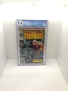 Eternals-1-CGC-7-5-Marvel-1976