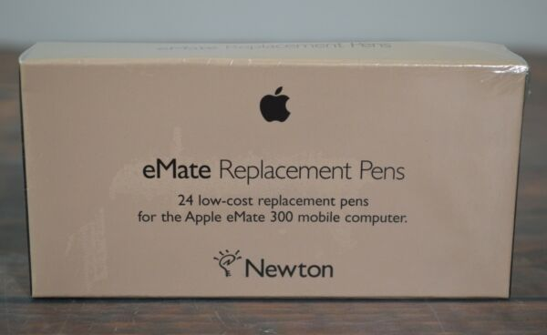 100% Waar New Vtg Apple Newton Emate Replacement Pens 24 Pack In Shrink Wrap 1997 Nos Bright Luster