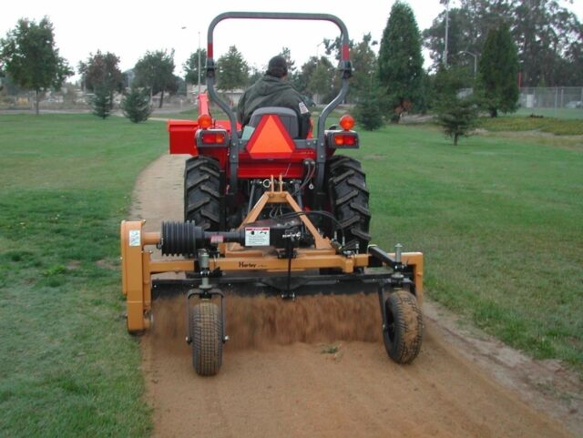 harley power landscape rake for tractors 3 point hitch 6 wide