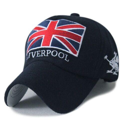 Brand New 2019 Liverpool Cap Football Hat Unisex Gorras SnapBack England Flag