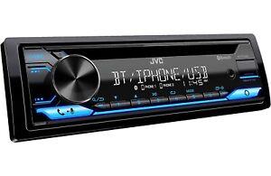 JVC KD-T710BT CD/MP3 Player USB AUX Bluetooth Pandora Spotify Alexa App Ready
