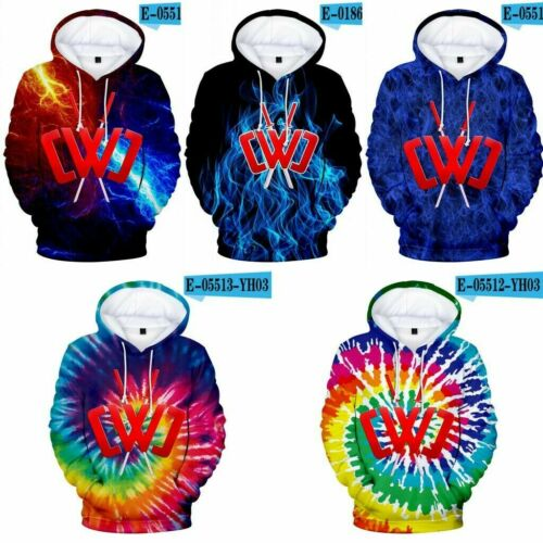 Kids Hoodies CWC Chad Wild Clay Youtube Youtuber Hooded Boys Girls Sweatshirt