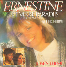 "ERNESTINE (& TOOTS THIELEMANS) - Het Verre Paradijs (1986 VINYL SINGLE 7"")"
