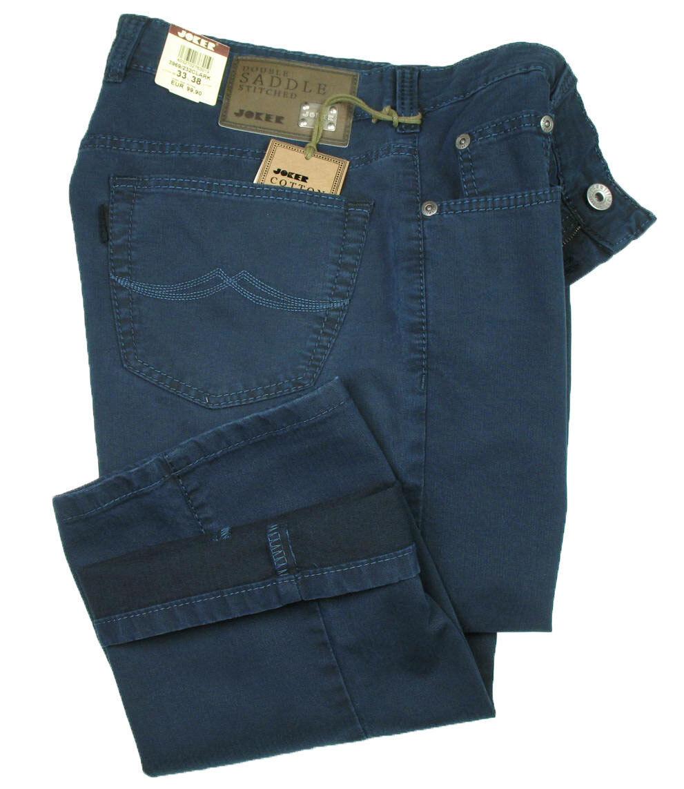 Joker Men's Jeans Clark (Easy Comfort Fit) Navy Tree Cotton