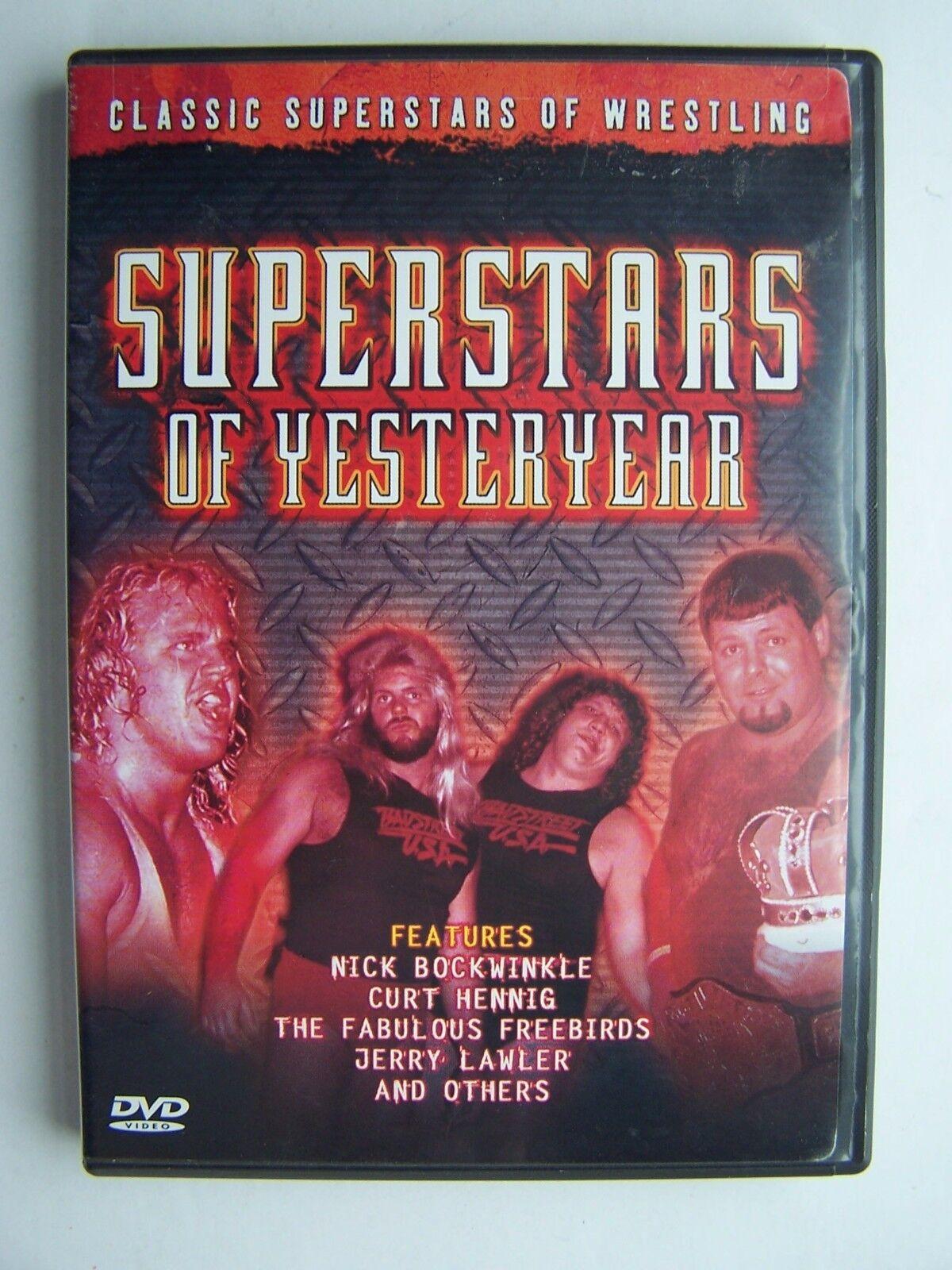 Wrestling SUPERSTAR of Yesteryear DVD