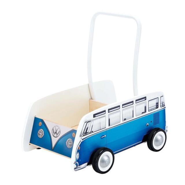 Hape Bulli Lauflernwagen Blau